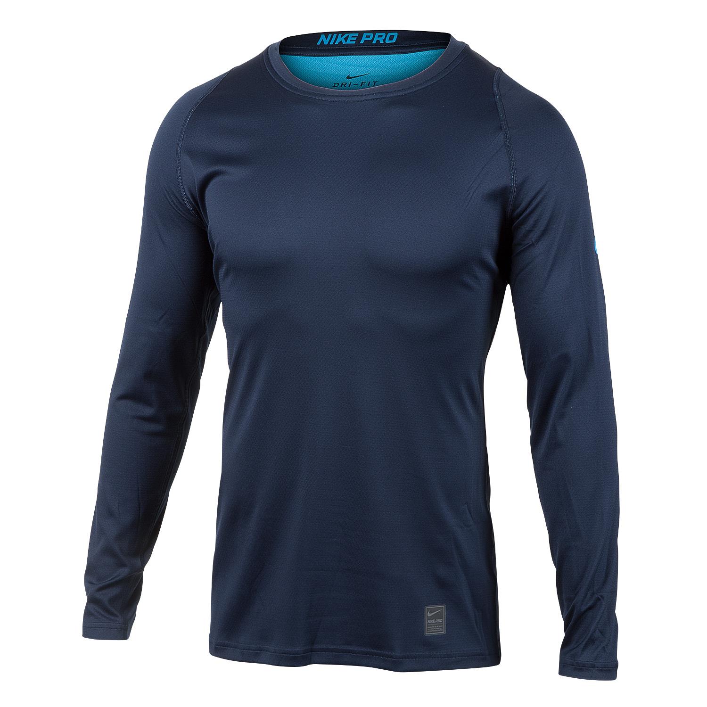 bcc414b0 Nike Mens Pro Combat Fitted Long Sleeve Baseball T Shirt - DREAMWORKS