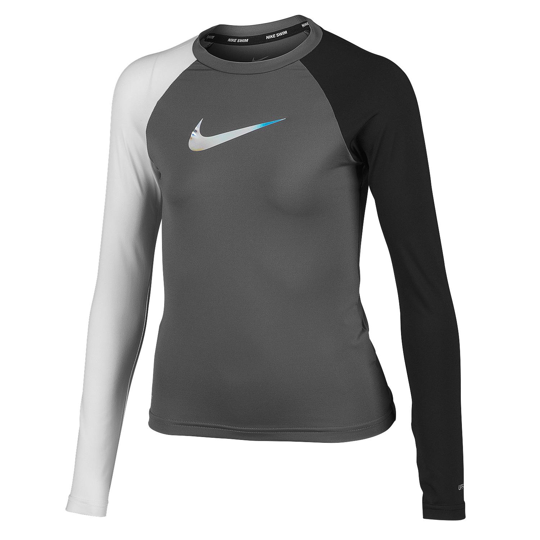 6b1dc1cb329 Nike Girls' Hydroguard Long-Sleeve Swim Tee | Big 5 Sporting Goods