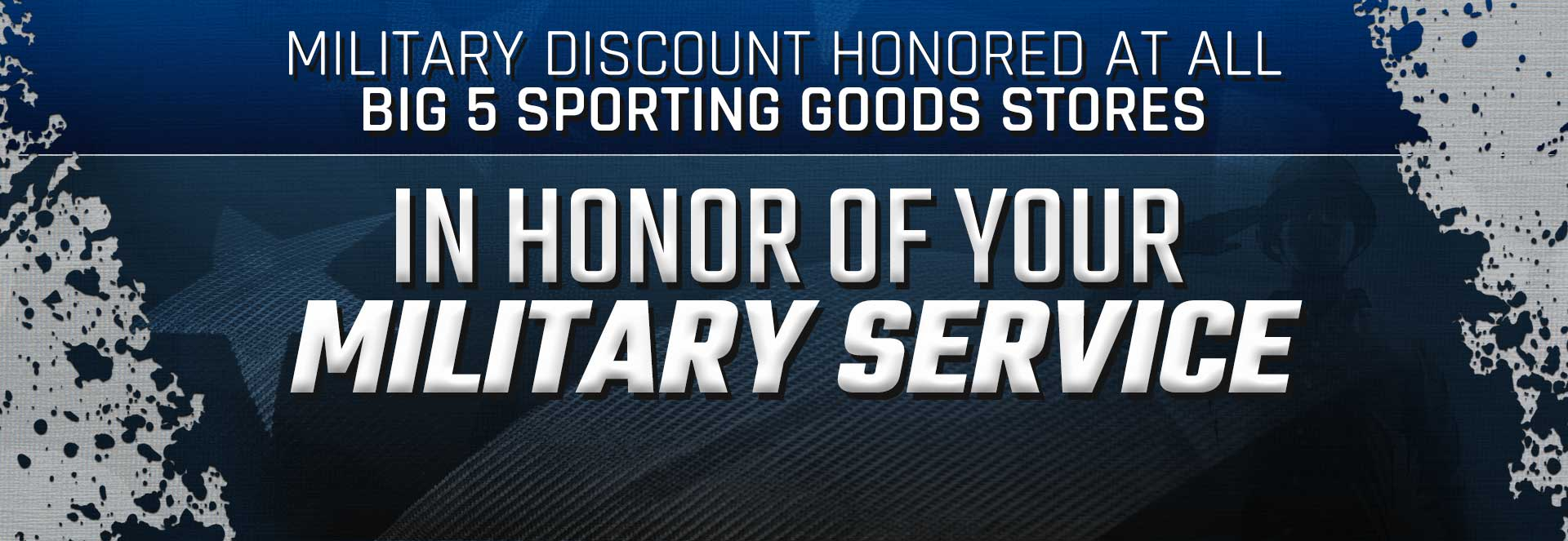 Militsary Discount - Discount offer for members of military