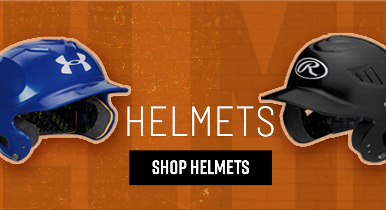 Fall Baseball | Under Armour and Rawlings helmets