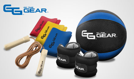 go time gear - an image of go time gear fitness equipment on a light grey background