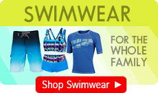 Mens, Womens and Youths Swimwear